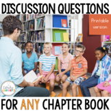 Book Club Questions for Any Chapter Book