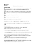 Discussion Questions for Chapter One of F. Scott Fitzgerald's The Great Gatsby
