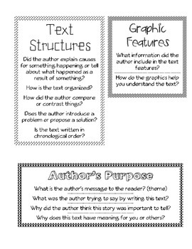 Discussion Questions for Guided Reading