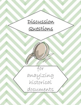 Discussion Questions for Historical Documents