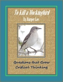 To Kill a Mockingbird Questions for Critical Thinking