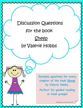 """Discussion Questions for the Book """"Sheep"""""""
