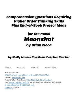 Discussion Questions for the book Moonshot