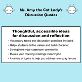 Discussion Quotes - 41 Thought-provoking Ideas for Class D