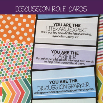 Discussion Role Cards