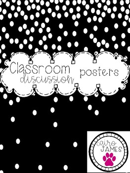Discussion Sentence Starter Poster