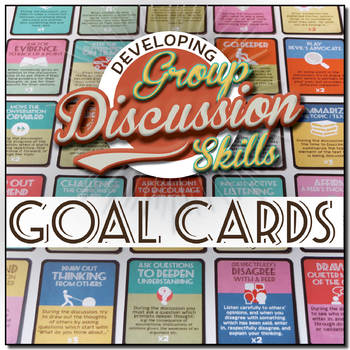 Discussion Skills: Challenge Task Cards