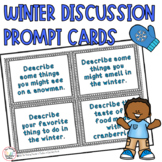 Discussion Starter Cards Winter Themed Writing  and Mornin