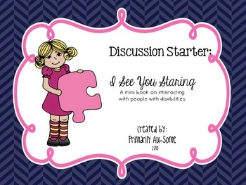 Discussion Starter: I See You Staring  - Mini Reader & Lesson Companion