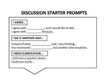 Discussion Starter Prompts