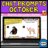 Discussion Starters   DIGITAL Chat Prompts   October