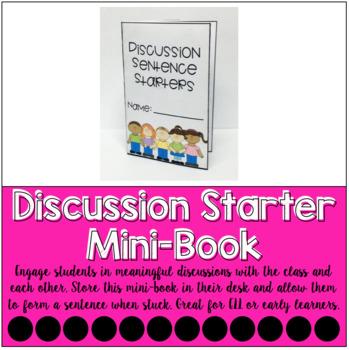 Discussion Starters Mini-Book