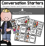 Discussion Starters and Higher Order Questions for Math Talks and All Subjects