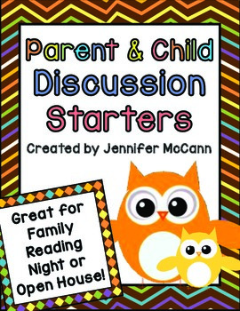 Discussion Starters for Parents and Students