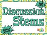 DISCUSSION STEMS - English & Spanish