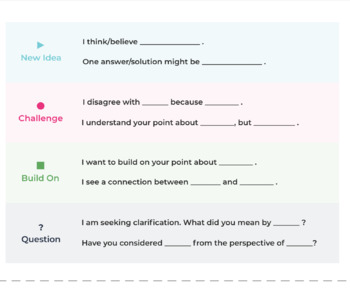graphic relating to Printable Parlay Cards named Printable Conversation Stems