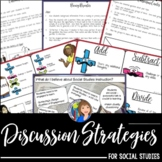 Discussion Strategies for Social Studies