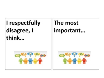 Discussion Task Cards