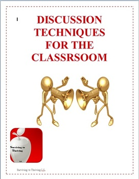 Discussion Strategies for Middle and High School Classrooms