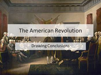 American Revolution Discussion: Was it Really A Revolution for Everyone?