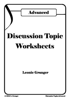 Discussion Topics- Advanced
