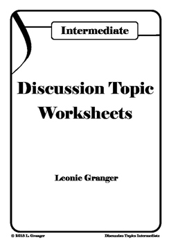 Discussion Topics- Intermediate