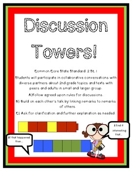 Discussion Towers for the Common Core