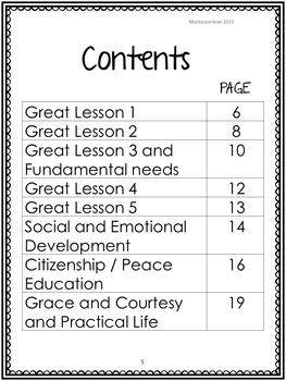 Montessori Elementary discussion questions