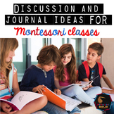 Montessori Elementary discussion questions