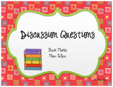 Discussion questions book marks nonfiction