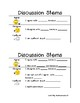 Discussion stems/ Talk Stems