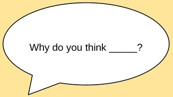 Discussion stems/Accountable talk stems