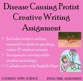 Disease Causing Protist Creative Writing Assignment