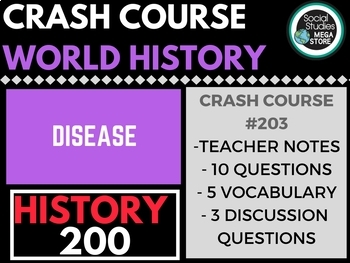 Disease! Crash Course World History 203