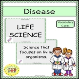 Disease Vocabulary Cards