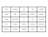Disease Unit Bingo Game