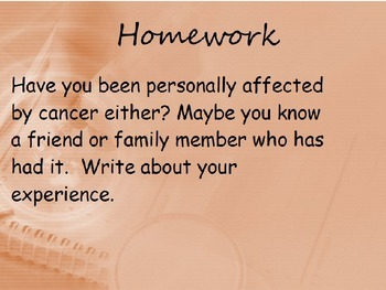 Diseases - Cancer (POWERPOINT)