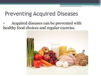 Diseases - Causes of Acquired Diseases w/worksheet (SMART BOARD)