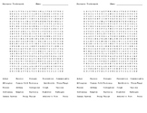 Communicable Diseases  Word Search