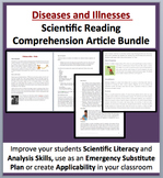 Diseases and Illnesses - Science Reading Comprehension Bundle
