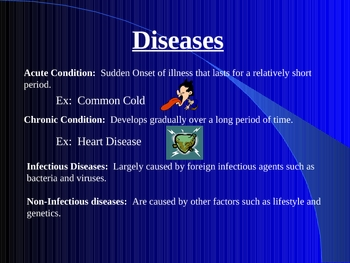 Diseases and Viruses