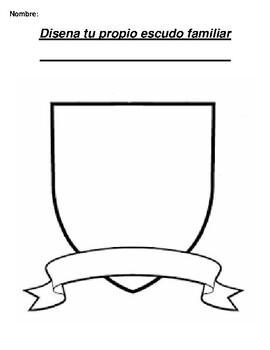 Disena tu propio escudo familiar Create your own family crest