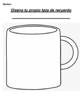 Disena tu propio taza de recuerdo Create your own mug