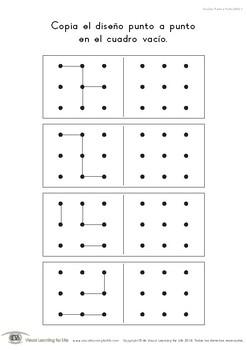 Diseños Punto a Punto (Habilidades de Percepción Visual)