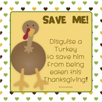 Disguise A Turkey