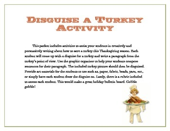 Disguise a Turkey - Save a Life