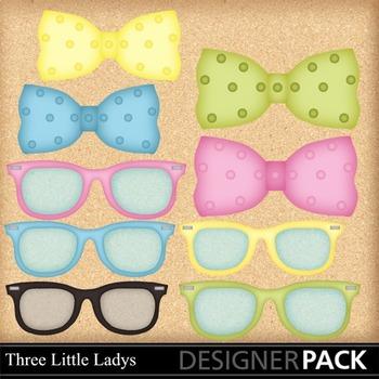 Disguise Party 1 Glasses n Ties
