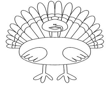 Free Thanksgiving Turkey Activity
