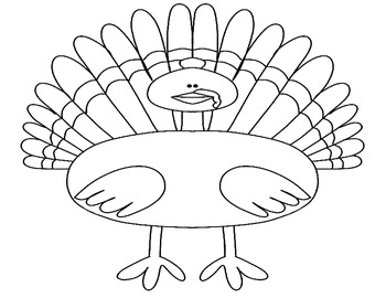 Free Thanksgiving Turkey Activity