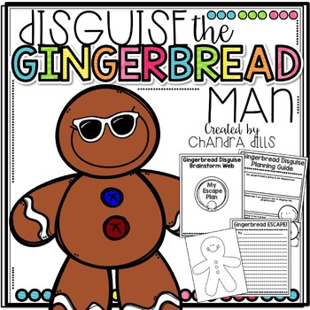 Disguise the Gingerbread Man Activity